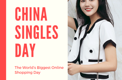 Attractive Chinese Woman adjusting Hair waiting for you on Singles Day