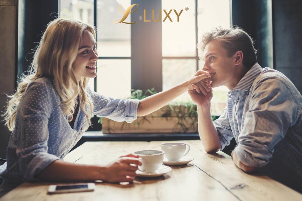 Beautiful Couple Talking