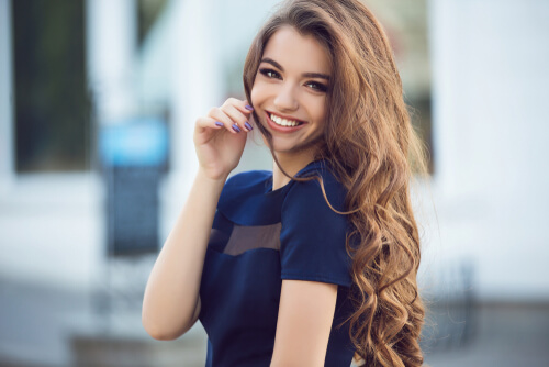 a good online profile - relax smile